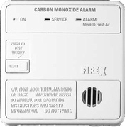 FIREX 6045 2T firex 6045 (coq) carbon monoxide alarm, ac powered with battery firex wire harness at fashall.co