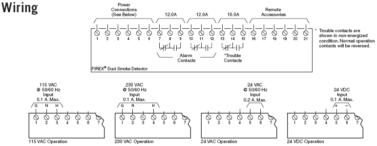 firex 2650 660 diagram large firex 2650 660 ionization 115 230 vac universal voltage duct smoke firex smoke alarm wiring diagram at gsmportal.co