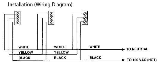 firex 484 diagram firex 484 photoelectric smoke alarm detector, 120v ac direct wire kidde smoke detector wiring diagram at reclaimingppi.co