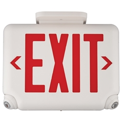 Dual Lite Evcurw Architectural Led Exit And Emergency