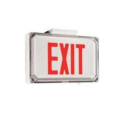 Dual Lite Sewldrwe 4x Harsh Environment Exit Sign 120