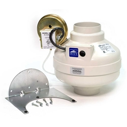 Fantech Dbf110 Dryer Booster Fan 110 Cfm 4 Inch Round