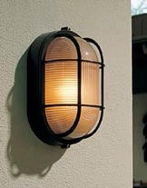 Hubbell outdoor lighting bof 02 28w euroluxe wall or ceiling mount hubbell outdoor lighting bof 02 28w euroluxe wall or ceiling mount decorative oval fluorescent wallpack black finish workwithnaturefo