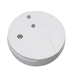kidde i9060 0916e battery operated ionization smoke alarm with hush. Black Bedroom Furniture Sets. Home Design Ideas