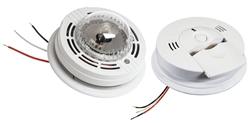 Kidde Hardwire Combo Carbon Monoxide And Smoke Alarm With