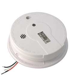 kidde i12080 21006379 120v ac dc wire in ionization smoke alarm with 9v battery back up. Black Bedroom Furniture Sets. Home Design Ideas