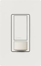 lutron ms ops5m wh occupancy sensor switch single pole 3. Black Bedroom Furniture Sets. Home Design Ideas