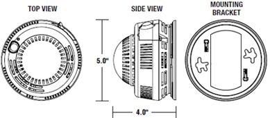 Brk Electronics First Alert 7010bsl 120v Ac Dc Hardwired