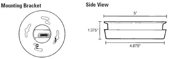 firex 45189 120v ac direct wire with battery back up. Black Bedroom Furniture Sets. Home Design Ideas