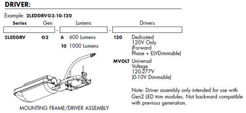 "Juno 2/"" RECESSED KIT 2LEDTRIM+2LEDDRIVER+2-NCMF NEW CONSTRUCTION FRAME"