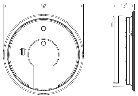 Smoke Detector Wiring Diagram Pdf as well Weatherproof Photoelectric Duct Smoke Detector furthermore 4120sb besides Smoke Detector Covers For Construction Wiring Diagrams likewise US7204133. on ionization alarm